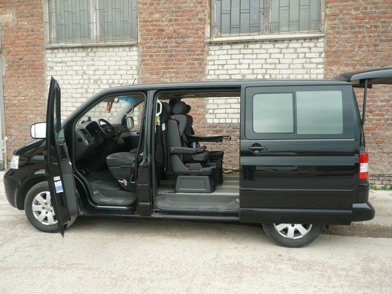 микроавтобуса фото салон фольксваген